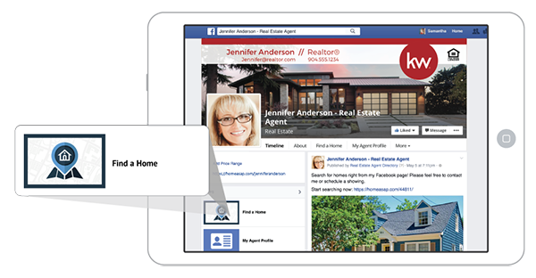 Real Estate Agents on Facebook